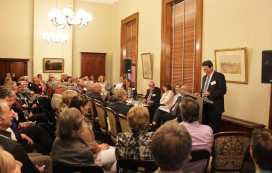 Celebrating 40 Years of Association at the Old Treasury Building (2014)